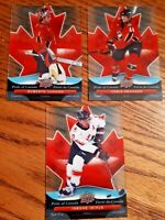 2009-10 Upper Deck McDonalds, Pride of Canada (UPick from the List)