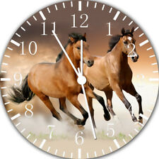 Beautiful Horse Frameless Borderless Wall Clock Nice For Gifts or Decor E356