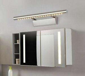LED Wall Light Mirror Lamp Fixture Aluminum Body Stainless Steel Room Indoor