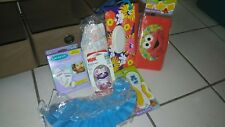 Bundle Items Nuk & Lanosiloh Baby Bottles bags & other items Elmo