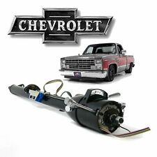 "1973-83 Chevy Truck 33"" Black GM TILT STEERING COLUMN Auto SHIFT + KEY Fleetside"