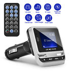 Car Bluetooth FM 1.4LCD Transmitter Remote Control Hands-Free Call USB Universal
