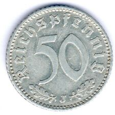 III. Reich 50 Reichspfennig 1935 J. (Alu.) Jaeger 368, vz-
