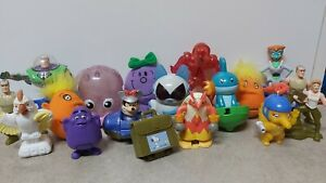 Vintage McDonald's Happy Meal Toys bundle  Pokemon /1997 Grimace/Disney/Sega
