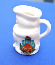 ARCADIAN 'CLACTON -ON-SEA' CRESTED CHINA TOBY JUG
