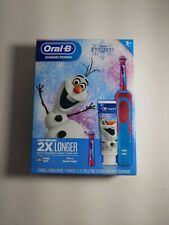 Oral-B Kids Frozen Rechargeable Electric Toothbrush + Crest New factory sealed!