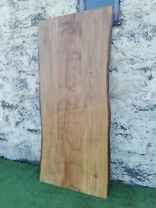 Rustic larch 8 ft x 3 ft Live edge table top