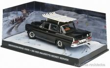 1/43 007 MERCEDES BENZ 220S ON HER MAJESTY SECRET SERVICE JAMES BOND  DIECAST