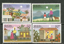 St. Kitts Scott# 127-130 * MLH Navidad 1983