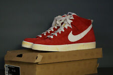 Nike Dunk High AC 2010 eu.42, 5 uk.8 Suede Daim Varsity Red Rouge 398263 601