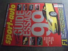 $$q Revue sport auto N°440 Prost  Schumacher  Edsel  Lamborghini LP 400 Countach