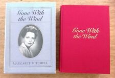 GONE WITH THE WIND 50th ANNIVERSARY LIMITED EDITION HC BOOK 1986 SLIPCASE