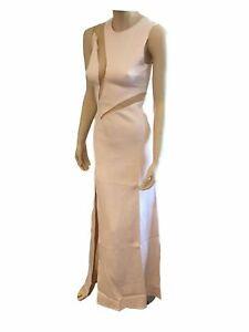 BNWT Goddess London Blush Pink Nude Size UK 12 Party Bridesmaid Occassion Dress