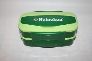 Heineken Bento Box Lunch Green Container with Chop sticks
