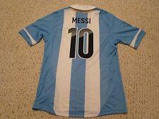 bdb39f05f NWT Adidas 2011 Copa America Argentina  10 Leo Messi Home Jersey Men Size  Medium