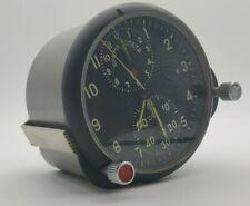 💥RARE Aviation Cockpit Clock ACHS-1 Mig-29 Stop Watch Soviet USSR Fully Working