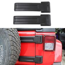 Tailgate Hinge Cover Trim For Jeep JK Wrangler 2007-2017 Exterior Black Factory