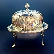 Rare Vintage Handmade Candy Bowl Silver Plated  Candy Dish *Vintage*