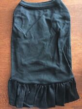 L BLACK Blank T-Shirt Dress Make Your Own NEW! Average Dog Large DIY!