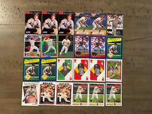 Scott Rolen 24 Card Lot from 1998 to 2005 Topps, Donruss, Fleer and more