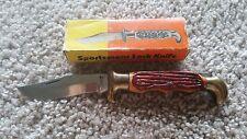Sportsman lock knife, made in pakistan. Pat 6410