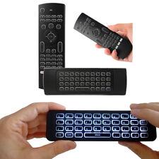 MX3 Air Mouse Tastiera Wireless Remoto con Luce posteriore per Android Smart TV Box