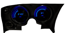 C3 Corvette 1968 - 1977 LED Digital Dash Gauge Instrument Cluster BLUE LEDs
