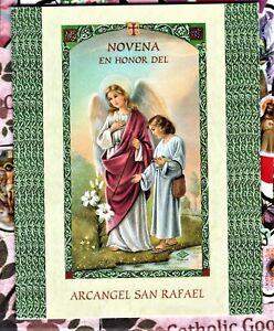 Novena en Honor del Arcangel San Rafael - Spanish Novena Pamphlet