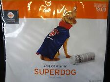SUPERDOG Dog Super Hero CAPE - Pet COSTUME Clothing Size SMALL