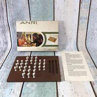 Anri Wooden Solitaire Boxed Complete RARE