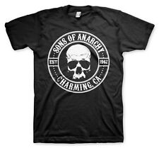 Officially Licensed Sons of Anarchy Seal BIG & TALL 3XL, 4XL, 5XL Men's T-Shirt