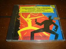 Stravinsky: The Firebird; Fantaisie for Orchestra, Op.4; Four Studies (CD,1993)