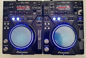 2 X Pioneer Cdj 400 SERVICED, MODED AS LIMITED, Fully Working CD Mp3 USB PC...