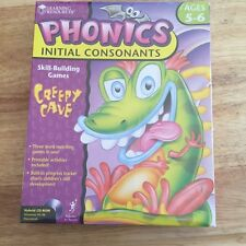 Creepy Cave Phonics Initial Consonants Skill-Building Game on Cd-Rom Ages 5-6