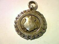 Fully hallmarked silver Football medal, 7.75g