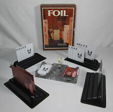 Foil 3m Bookshelf Game Challenging Words and Wits Vintage 1972 Ed. 3M Bookcase
