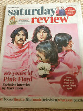 UK TIMES REVIEW - PINK FLOYD 50 YEARS ON EXCLUSIVE INTERVIEW - MAY 2015