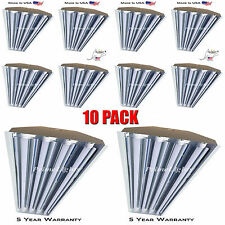 4 Lamp T8 LED HighBay -  Warehouse, Shop, Garage BRIGHT Commercial(10 FIXTURES)