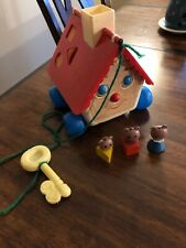 Fisher Price Goldie Locks And The Three Bears House
