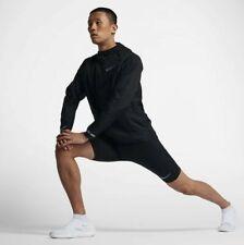 Nike Power Tech Shorts Tight Sz XL Black Reflective New 857651 010