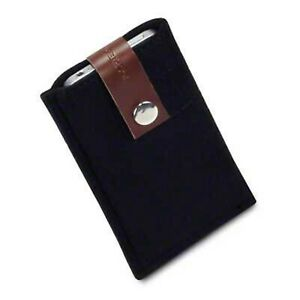 Handmade Soft Felt Wool Pouch Sleeve Case Black For Apple iPhone 4 iPhone 4S