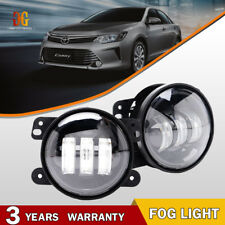 New Clear Pair LED Fog Light Driving Lamp for Toyota Tacoma Matrix Camry Corolla