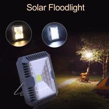 Solar Floodlight Spotlight USB Rechargeable Working Camping Lamp Emergency Light