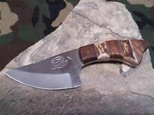 "Fox N Hound Skinner Knife Stag & Wood Fixed Wide Blade Full Tang 6"" Hunter 620"