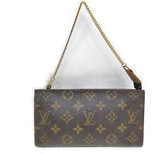 Louis Vuitton LV Accessories Pouch Bag  Browns Monogram 1413494