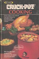 Rival Crock Pot Cooking Vintage 1975 Cookbook Hardcover 300+ Recipes Slow Cooker