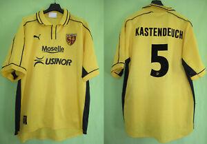 Maillot  Fc Metz Kastendeuch #5 USINOR 1999 Moselle Vintage Puma jersey - XL