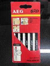 AEG U Shank Jigsaw Blades 75mm 5pk