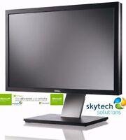 "Dell  Professional P2011HT 20""  Widescreen LED LCD Cheap Monitor VGA DVI CCTV pc"