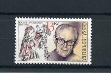 Czech Republic 2016 MNH Tradition of Stamps Karel Svolinksy 1v Set Stamp Design